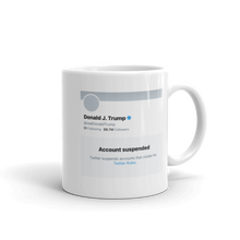 Load image into Gallery viewer, Trump Twitter Mug - The Gay Bar Shop