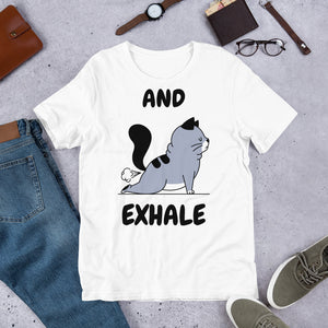 And Exhale t-paita