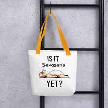 Lataa kuva Galleria-katseluun, Is It Savasana Yet kangaskassi