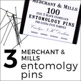 Christmas gifts for the sewer entomology pins from merchant and mills
