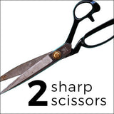 Christmas gifts for the sewer sharp fabric scissors