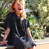 girls dress patterns for special occasions the rosetta dress by pattern and cloth black spot