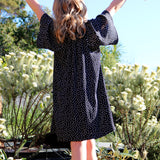 girls dress patterns for special occasions the rosetta dress by pattern and cloth black fabric