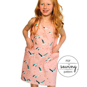 easy dress patterns by pattern and cloth, the little havana dress