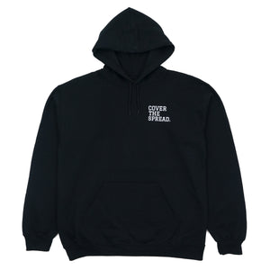 cover the spread mens hoodie