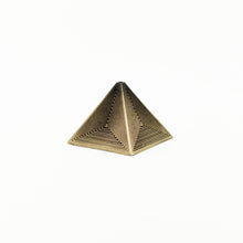 Load image into Gallery viewer, The Pyramid – Brass