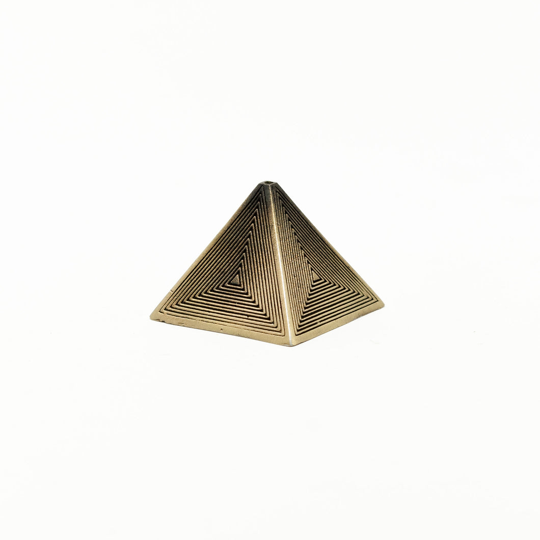 The Pyramid – Brass