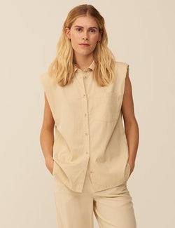 Paityn Vest Oyster
