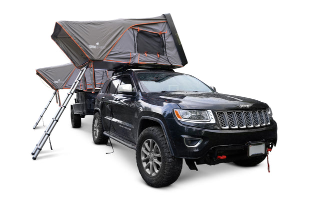 SkyLux Bantam Hard Shell Rooftop Tent (RTT) with Awning and Insulation Package - Torro Offroad