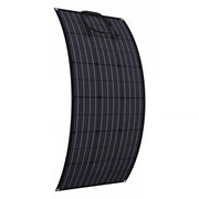 100-300 Watt 18v High Efficiency (Matte Black) ETFE Monocrystalline Flexible PV Solar Panels - Torro Offroad