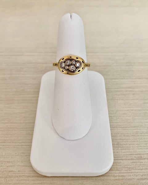 Alex Sepkus Little Pool Dome Ring