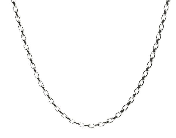 Signature Rolo Silver Chain by Lola