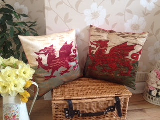 Wales is a big part of me and is reflected in all that I produce. I started out making cushions while my children grew up and the business has grown from there to what it is today; a very full shop selling beautiful handmade items made by local artisans a