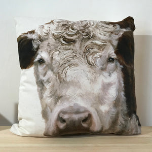Hereford Bull cushion