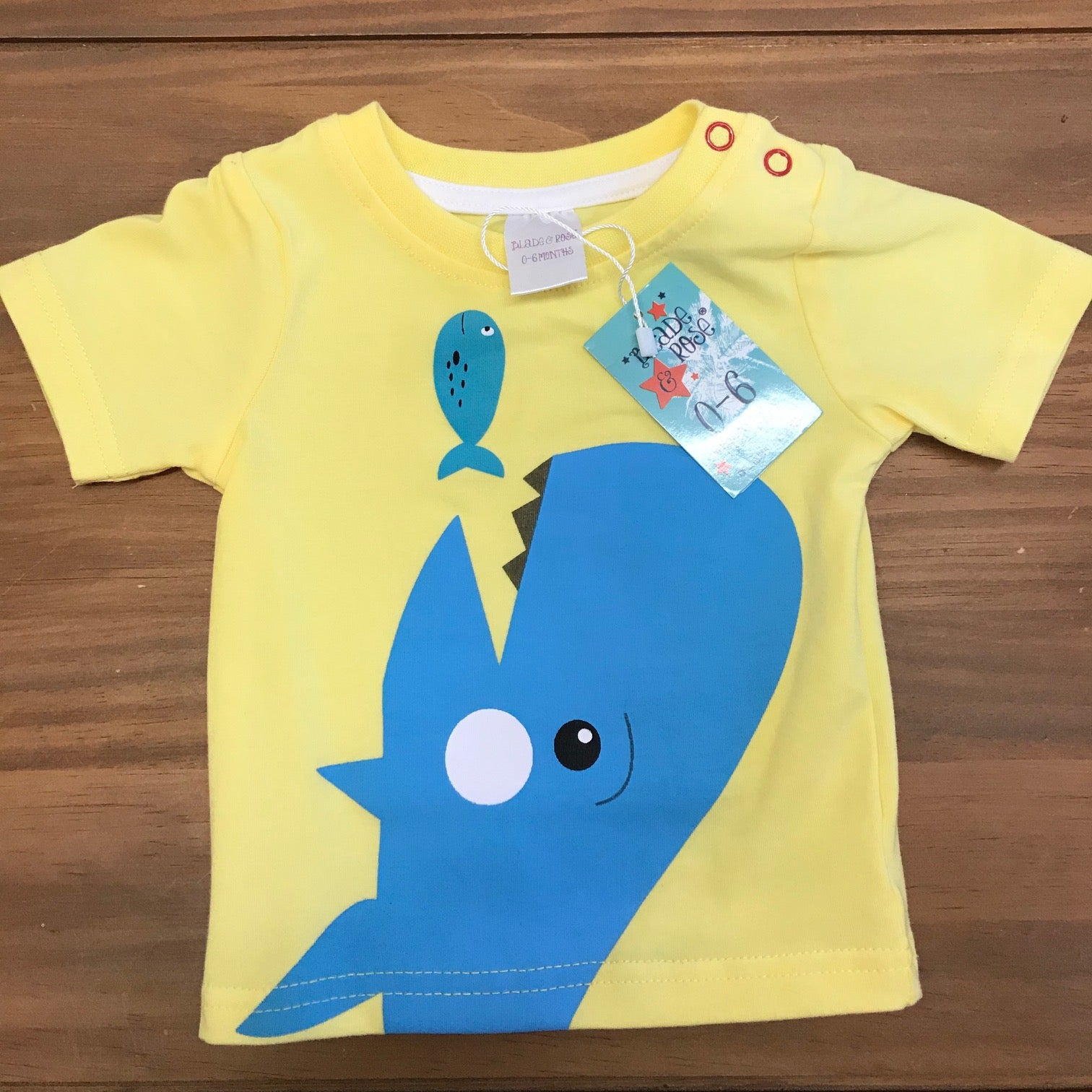 Blade & Rose Sea-life T-shirt 0-6mths