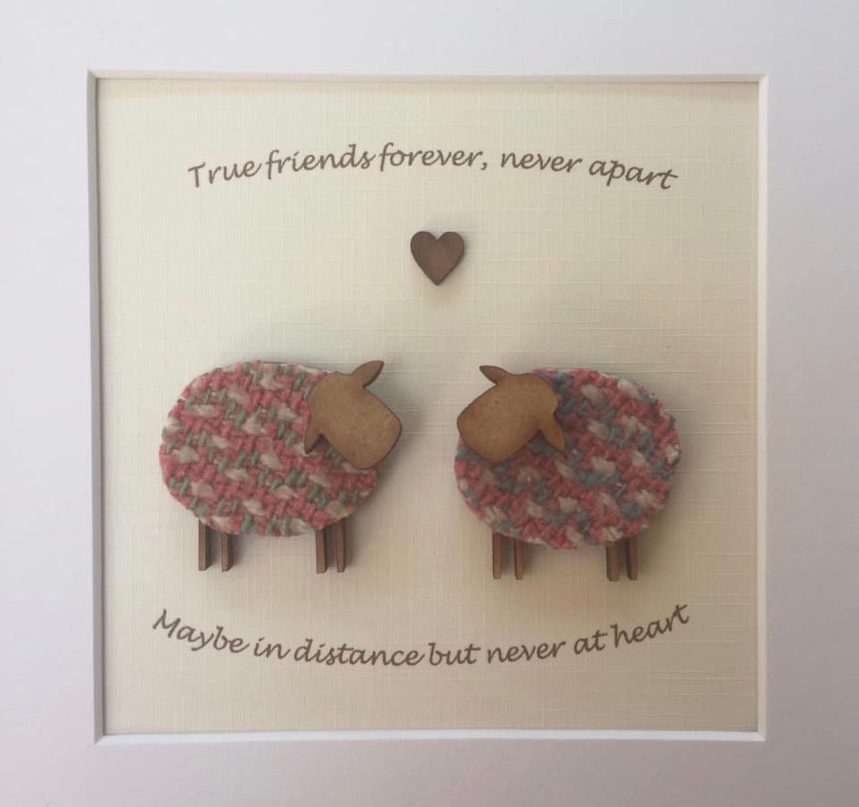 True Friends forever Frame
