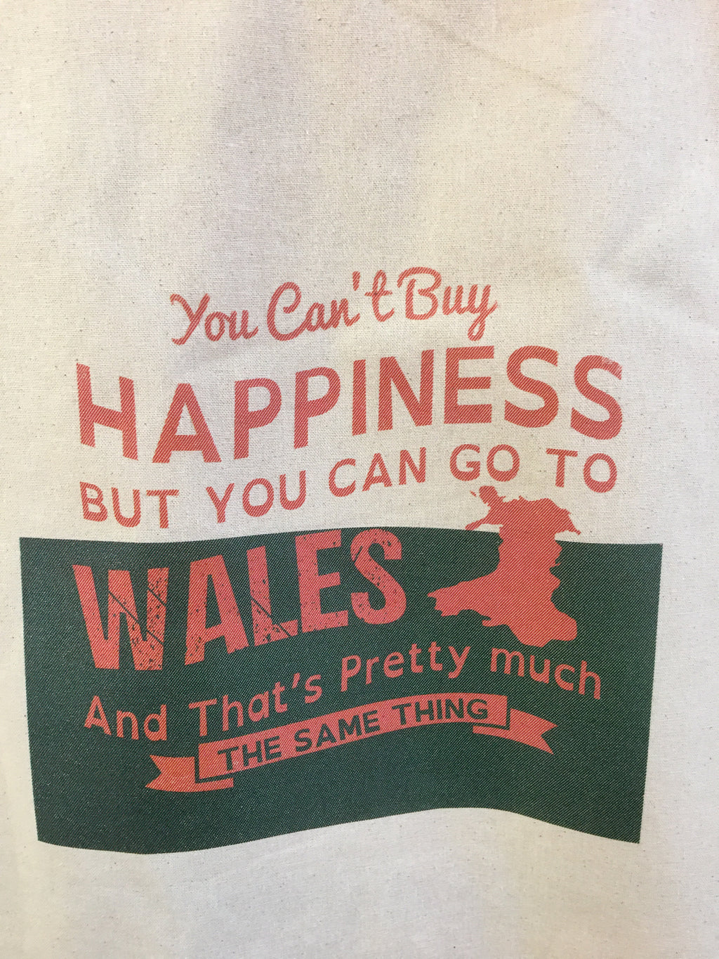 welsh cotton bag