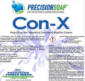 PRECISION SOAP CON- X 1 GALLON