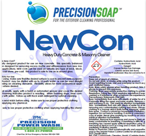 PRECISION SOAP NEWCON 1 GALLON
