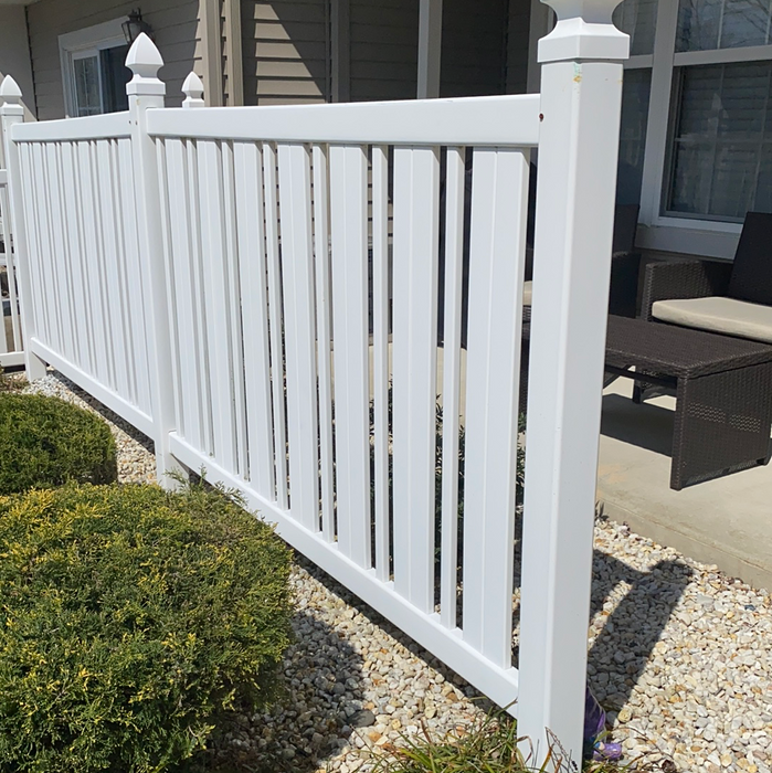 Stonebridge patio and privacy fence  cleaning