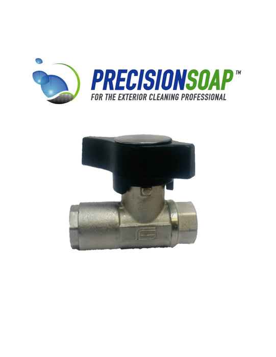 HIGH PRESSURE SHUT OFF VALVE PN210 MOP5 CW617N