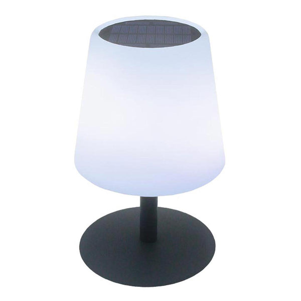 Lampe de table solaire et rechargeable LED blanc chaud/blanc dimmable STANDY TINY SOLAR H25cm - REDDECO.com