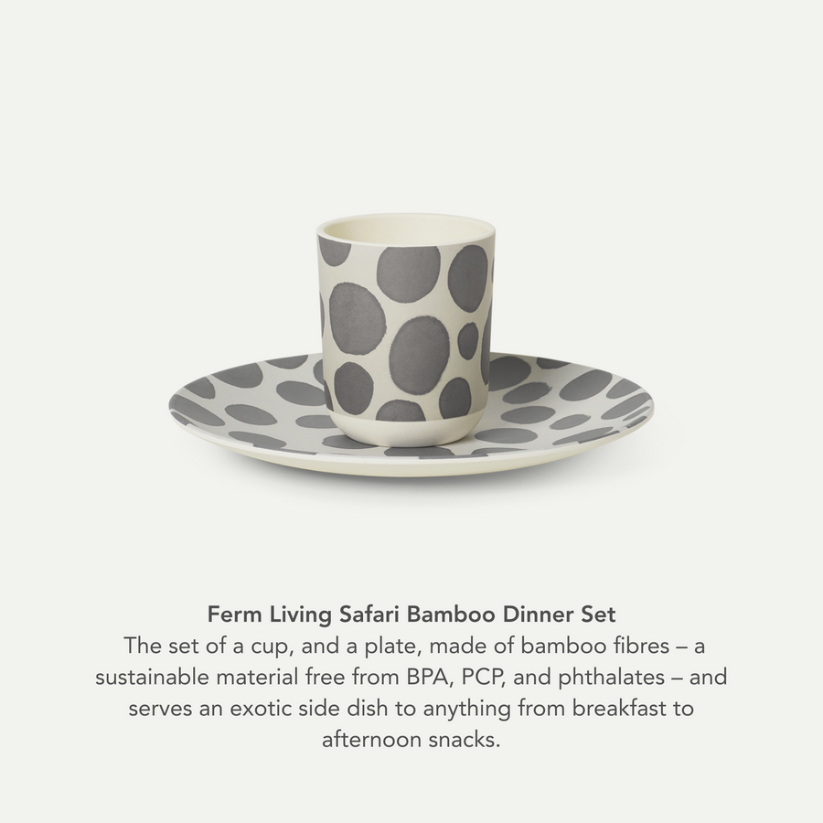 Ferm Living Safari Bamboo Dinner Set