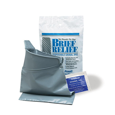 Brief Relief Liquid Waste Bag / Case of 100