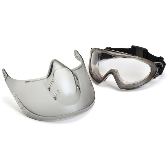 Capstone Shield Goggles - Removable Face Shield