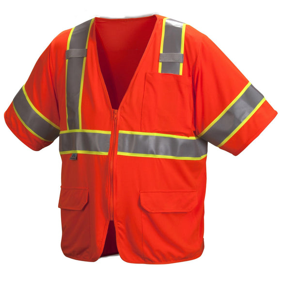 Type R Class 3 Two-Tone Mesh Surveyor Safety Vest
