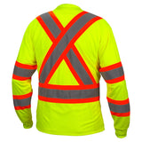 Type O Class 1 X-Back Two-Tone Long Sleeve Safety Shirt 5 / Box