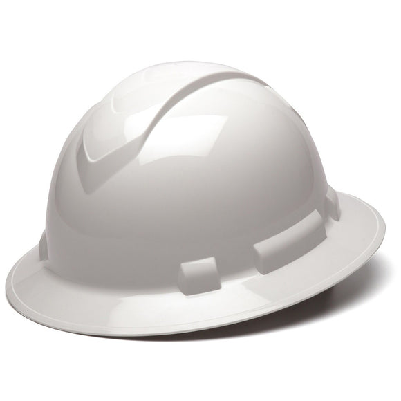 Ridgeline Full Brim Hard Hats Non Vented and Vented 12 / Box