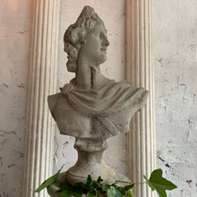 Load image into Gallery viewer, Mid Century Grecian Bust Of Apollo On Column