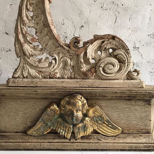 Pair Of Early 19th Century French Carved Brackets