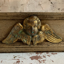 Load image into Gallery viewer, Pair Of French 19th Century Bleached Oak Cherub Plinths