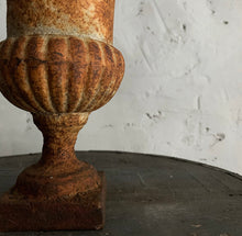 Load image into Gallery viewer, Small 19th Century French Cast Iron Urn