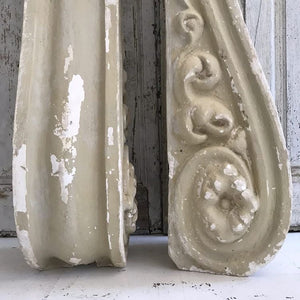 Stunning French Plaster Corbels