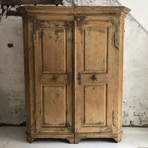 Early 18th Century French Cupboard/Wardrobe
