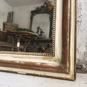 19th Century French Crested Mirror