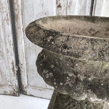 Load image into Gallery viewer, Gorgeous Weathered Urn On Plinth