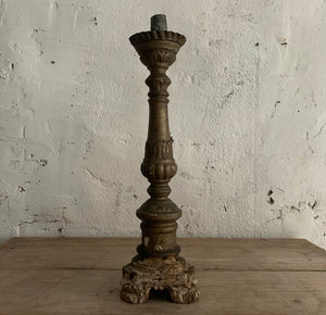 Pair Of 18th Century Italian Candlesticks