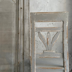 Gorgeous Rustic French Painted Chair