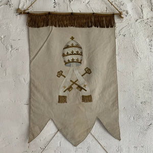 Set Of 4 19th Century French Ecclesiastical Banners