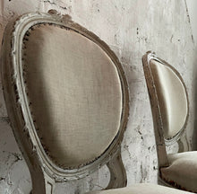 Load image into Gallery viewer, Pair Of Early 19th Century French Louis Bedroom Chairs