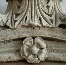 Load image into Gallery viewer, Pair Of 19th Century Sandstone Capitals