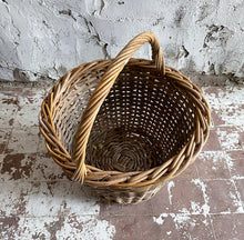 Load image into Gallery viewer, 19th Century French Wicker Basket