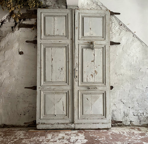 Late 18th Century French Castle Doors