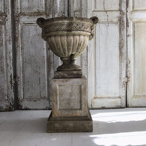 Gorgeous French Urn On Plinth