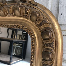 Load image into Gallery viewer, Gorgeously Knackered 19th Century French Crested Louis Philippe Mirror