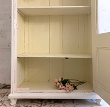 Load image into Gallery viewer, Gorgeous French Painted Vitrine Cupboard
